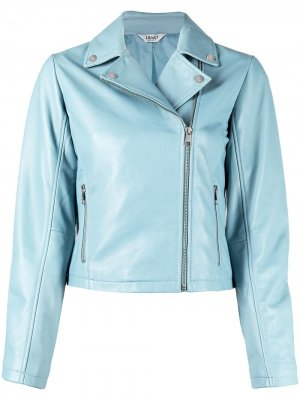 Куртка на молнии LIU JO. Цвет: синий