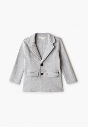 Пиджак Mango Kids - SACO. Цвет: серый