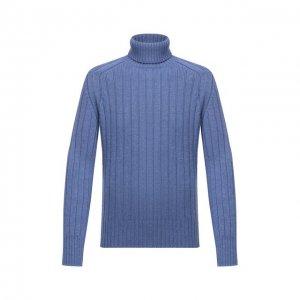Шерстяной свитер Cruciani. Цвет: синий
