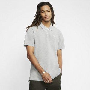 Мужская рубашка-поло Sportswear - Серый Nike