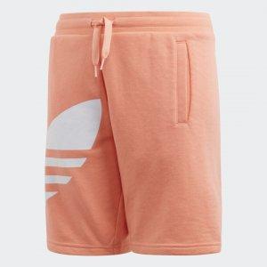 Шорты Big Trefoil Originals adidas. Цвет: белый