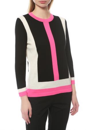 Пуловер Escada. Цвет: черный, розовый, белый