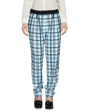 Повседневные брюки EMMA COOK. Цвет: небесно-голубой