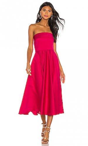 Облегающее платье с расклешенной юбкой pettigrew Jay Godfrey. Цвет: красный