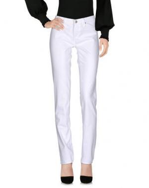 Повседневные брюки AG JEANS. Цвет: белый