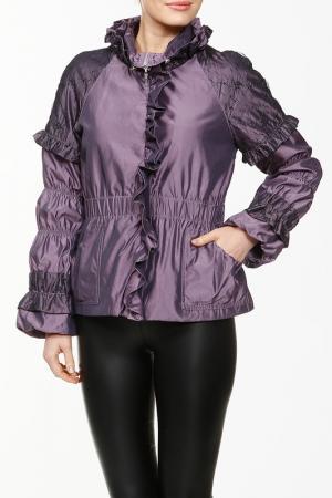 Куртка LAFEI-NIER. Цвет: сирень