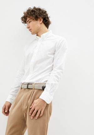 Рубашка Hackett London. Цвет: белый