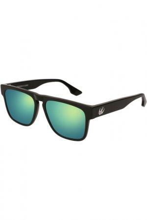 Очки солнцезащитные McQ Alexander McQueen. Цвет: 002