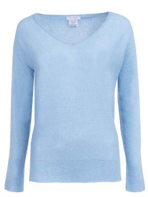 Кашемировый пуловер Gran Sasso. Цвет: голубой