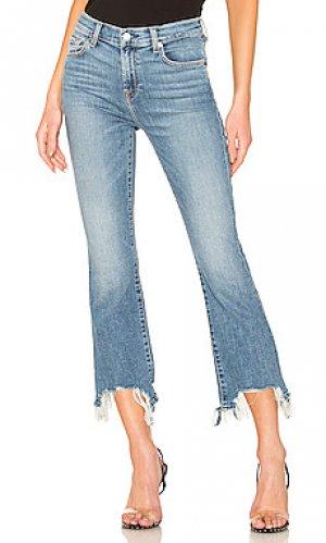 Расклешенные джинсы slim kick 7 For All Mankind. Цвет: none