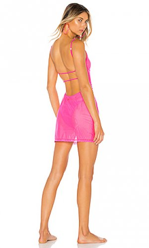 Платье halo MINIMALE ANIMALE. Цвет: розовый