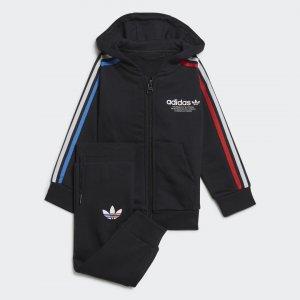 Спортивный костюм Adicolor Originals adidas. Цвет: черный
