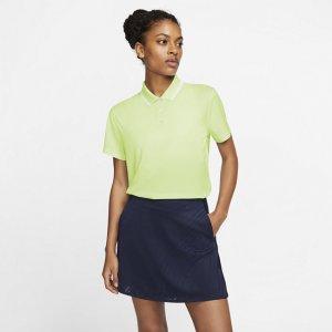 Женская рубашка-поло для гольфа Dri-FIT Victory - Зеленый Nike