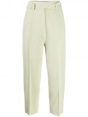 Укороченные брюки Hilary Petar Petrov. Цвет: зеленый