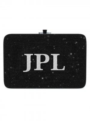 Кастомизируемая сумка Slim Slide Customizable Monogram Judith Leiber. Цвет: золотистый