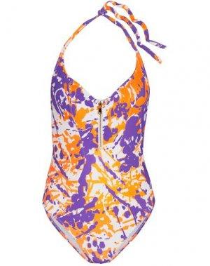 Слитный купальник L'AGENT by AGENT PROVOCATEUR. Цвет: фиолетовый