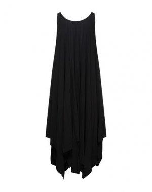 Платье до колена ISSEY MIYAKE. Цвет: черный