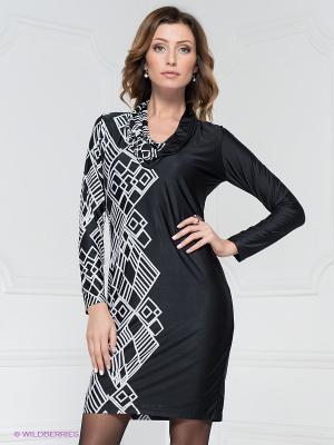 Платье Analili. Цвет: черный, белый