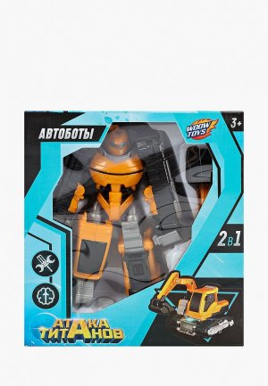 Робот Woow Toys. Цвет: желтый