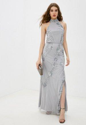 Платье Little Mistress. Цвет: серый