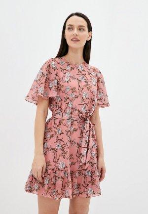 Платье Belucci. Цвет: розовый