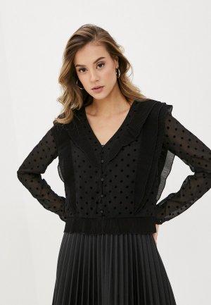 Блуза Pimkie SSEVOL. Цвет: черный
