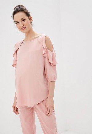 Блуза I Love Mum Марэлла. Цвет: розовый