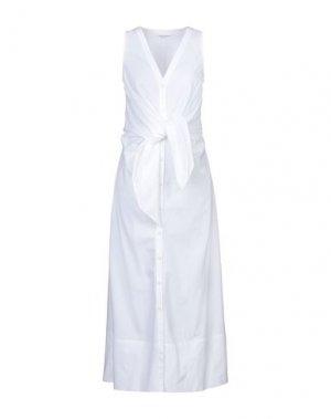 Длинное платье ANNA RACHELE. Цвет: белый