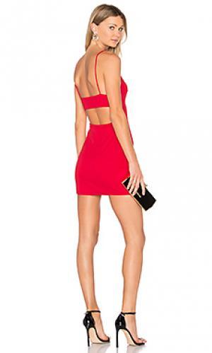 Платье kate NBD. Цвет: красный
