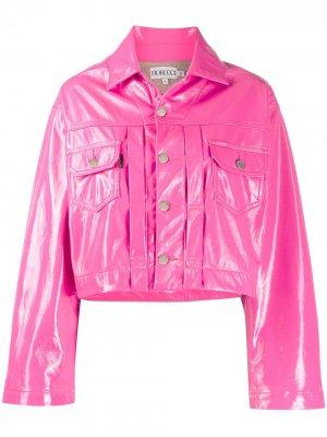 Укороченная куртка Berty Fiorucci. Цвет: розовый