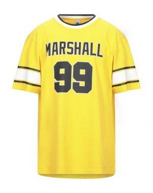 Футболка FRANKLIN & MARSHALL. Цвет: желтый