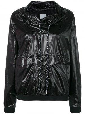 Непродуваемая куртка-бомбер Pinko. Цвет: черный