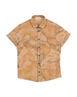 Pубашка ALVIERO MARTINI 1a CLASSE. Цвет: верблюжий