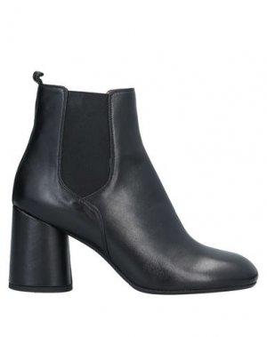 Полусапоги и высокие ботинки ANGELO BERVICATO. Цвет: черный