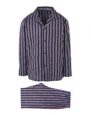 Пижама AMBASSADOR. Цвет: темно-синий