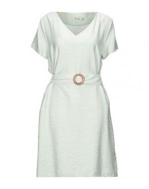 Платье миди DRY LAKE.. Цвет: светло-зеленый