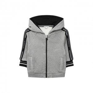 Толстовка Givenchy. Цвет: серый