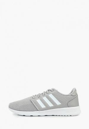 Кроссовки adidas QT RACER. Цвет: серый