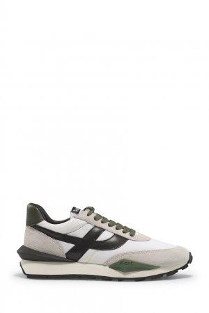 Серые комбинированные кроссовки Spider ASH. Цвет: серый