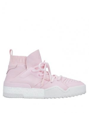 Высокие кеды и кроссовки ADIDAS ORIGINALS by ALEXANDER WANG. Цвет: розовый