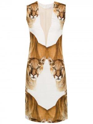 Leoa silk dress Gloria Coelho. Цвет: белый