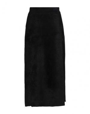 Юбка длиной 3/4 A.L.C.. Цвет: черный