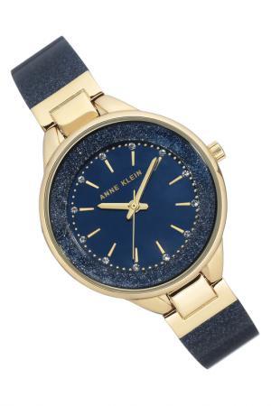 Часы наручные Anne Klein. Цвет: синий, золотой