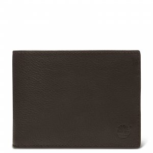 Кошельки Large Man Wallet Timberland. Цвет: темно-коричневый