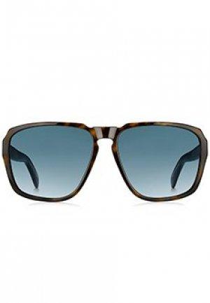 Солнцезащитные очки GIVENCHY. Цвет: коричневый