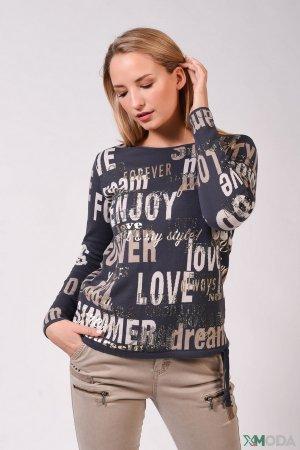 Пуловер Monari. Цвет: синий