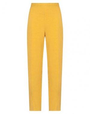 Повседневные брюки COMPAGNIA ITALIANA. Цвет: охра