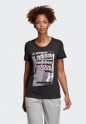 Футболка adidas Linear Tee I. Цвет: черный