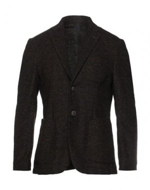 Пиджак DOMENICO TAGLIENTE. Цвет: коричневый