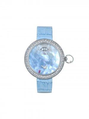 Наручные часы Kalysta Heavens Tale 39 мм Jorg Hysek. Цвет: синий
